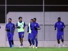 نجوم النصر يستأنفون التدريبات بعد العودة .. وغداً يواصلون التدريبات على مجموعتين